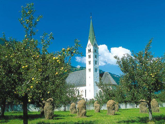 Pfarrkirche Prutz Tiroler Oberland - Prutz-Faggen Tirol