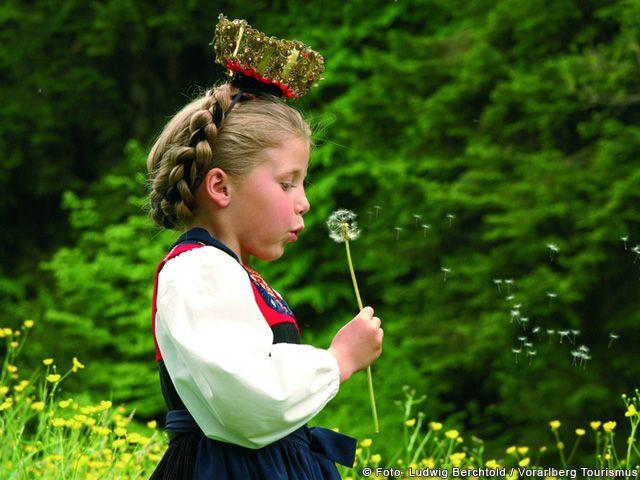 Mädchen in Vorarlberg - Vorarlberg