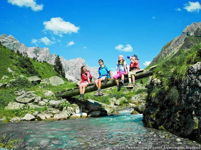 Gebirgsbäche in Vorarlberg - Vorarlberg