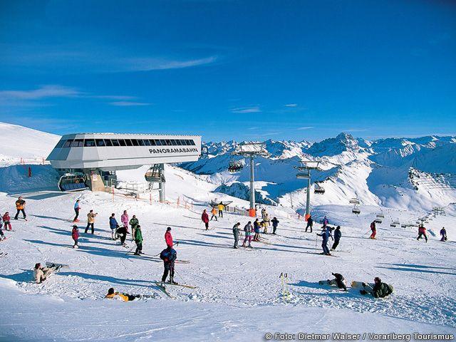 Skifahren in Vorarlberg - Vorarlberg