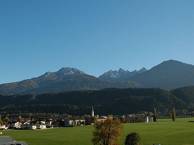 Blick Richtung Süden. - Kematen Tirol