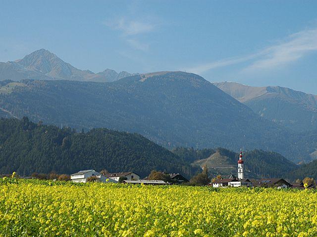 Blick Richtung Westen - Rangger Köpfl - Rosskogel. - Kematen Tirol