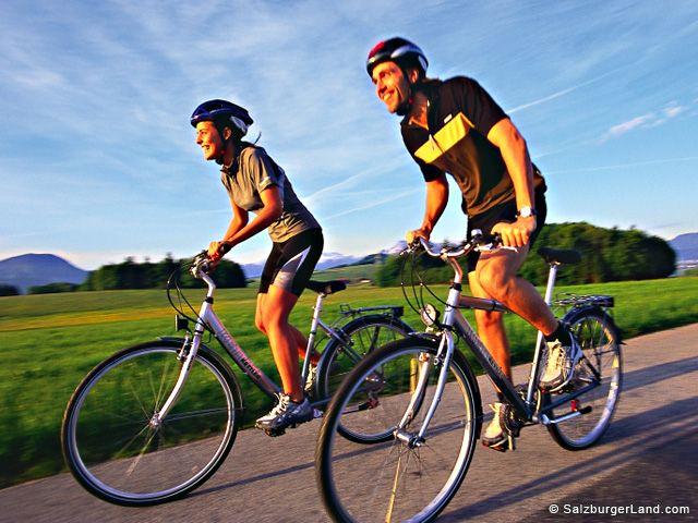 Radfahren in Salzburg - Salzburg