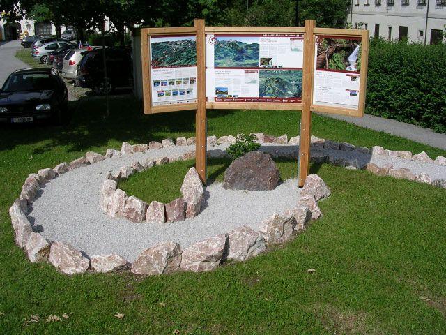 Bild: Von der Infostation im Zentrum von Spital am Pyhrn können Sie 2 Etappen des Kalkalpenweg bestreiten. - Spital  am  Pyhrn Upper Austria