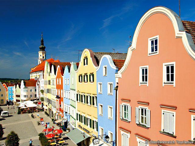 Städteurlaub in Oberösterreich - Oberoesterreich