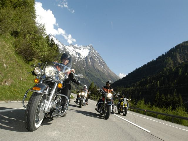 Motorraderlebnisse zwischen Großglockner und Dolomiten - Sillian Tirol
