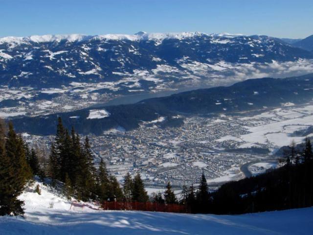 Panoramablick auf Spittal - Spittal a.D. Kaernten