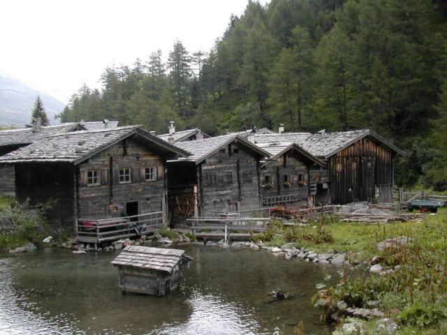 Almdorf im Außergschlöß - Matrei i. O. - Hohe Tauern Osttirol Tirol
