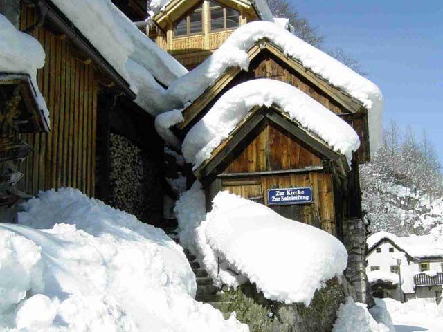 Hallstatt im Winter - Hallstatt Oberoesterreich