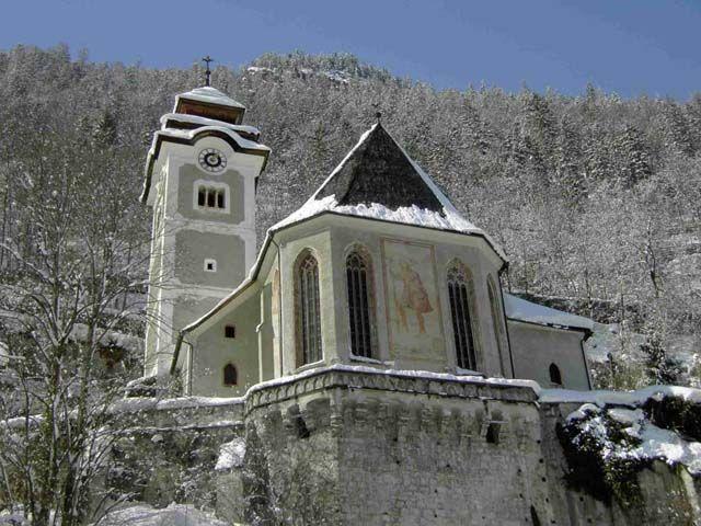Katholische Kirche in Hallstatt - Hallstatt Oberoesterreich