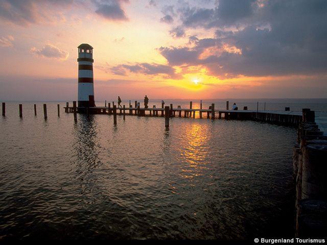 Sonnenuntergang am See - Burgenland - Burgenland
