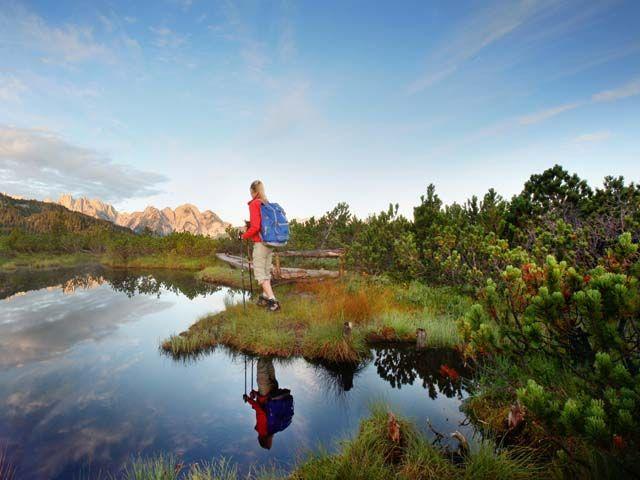 Besuchen Sie in Gosau die Schleifsteinbrüche und machen Sie eine Wanderung zu einem der schönsten Glücksplätze der Region. - Dachstein Salzkammergut Oberoesterreich