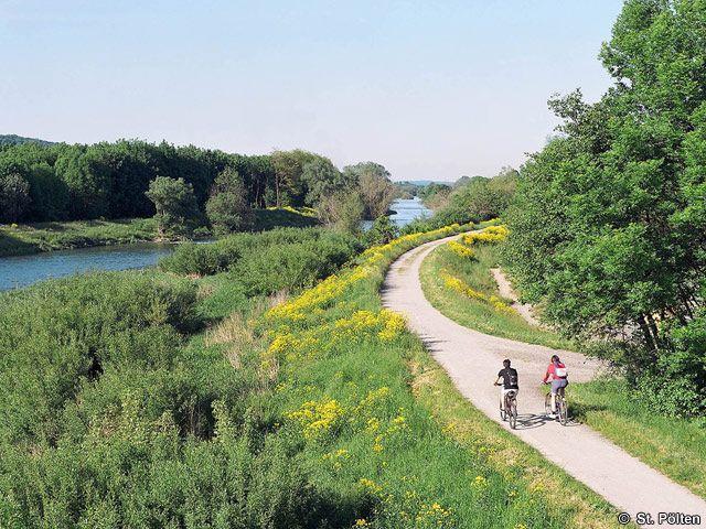 Radfahren Traisen - St. Poelten Niederoesterreich