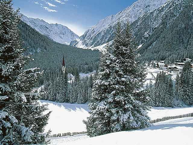 St. Sigmund im Sellrain - St. Sigmund-Praxmar  Tirol