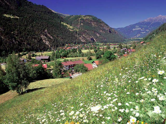 Blick auf Tösens - Toesens Tirol
