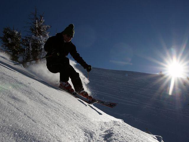 Fun beim Skifahren - Bezau Vorarlberg