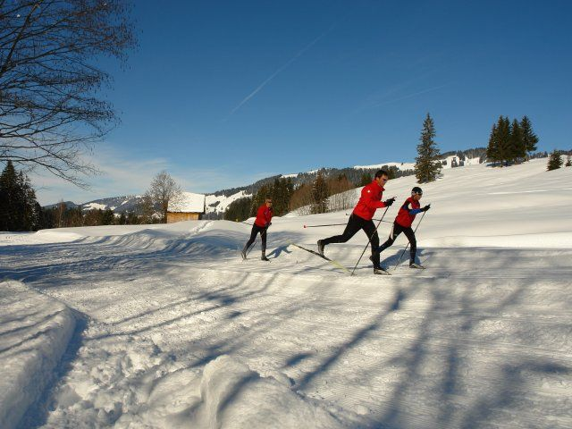 langlauf - Sibratsgfaell Vorarlberg