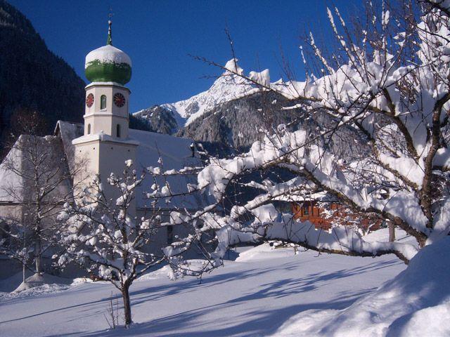 Kirche St. Gallenkirch - St. Gallenkirch-Gortipohl Vorarlberg