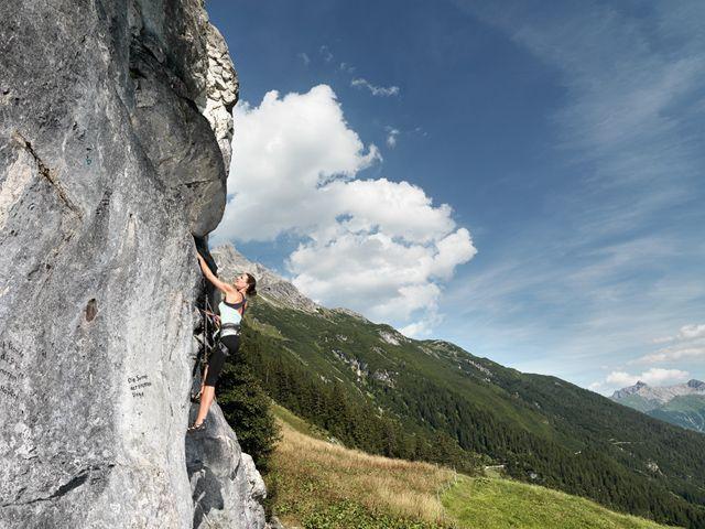 Klettern - Warth am Arlberg Vorarlberg