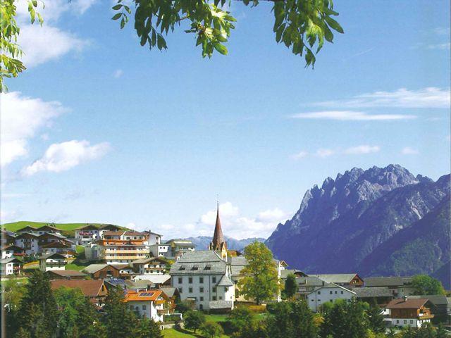 Das Dorf Anras - Anras Tirol