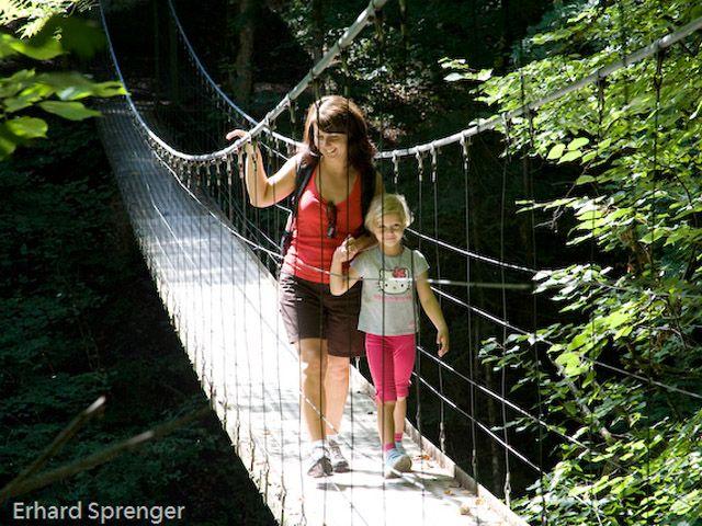 Drahtstegbrücke - Egg Vorarlberg