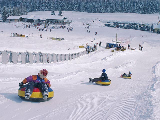 Fun Park auf der Postalm Arena - Wolfgangsee Region Oberoesterreich