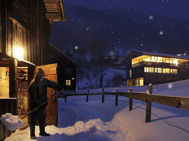 Die Architektur verbindet Moderne und Tradition. - Bregenzerwald Vorarlberg