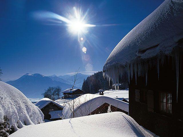 Winterlandschaft in Schwarzenberg/Bödele - Bregenzerwald Vorarlberg