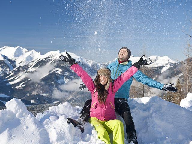 Glitzernder Schnee, kristallklare Bergluft und weiße Bilderbuchlandschaften sind die idealen Voraussetzungen, um neue Kraft und Energie zu tanken - Kufstein Ferienland Tirol