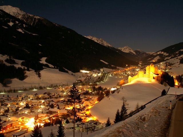Märchenhafter Wintertraum im Dorf Heinfels - Heinfels Tirol