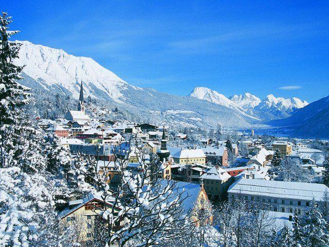 Blick auf das winterliche Imst! - Imst Tirol
