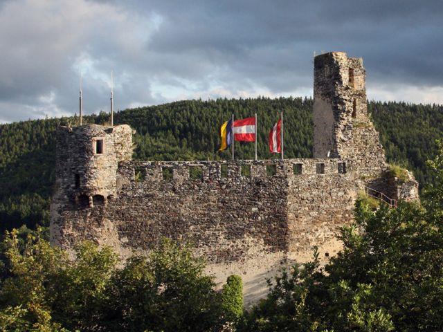 Burgruine Senftenberg - Senftenberg Niederoesterreich