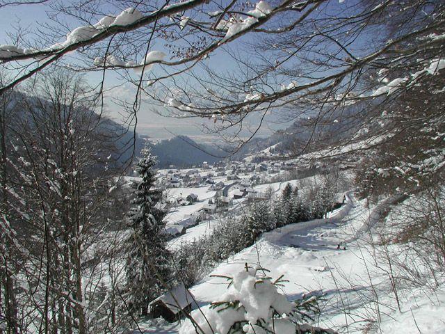 Blick auf Laterns/Thal - Laterns Vorarlberg