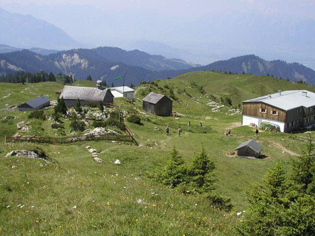 Freschenhaus mit Alpengarten - Laterns Vorarlberg