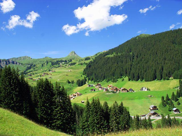 Die Parzelle Uga in Damüls - Damuels - Faschina Vorarlberg