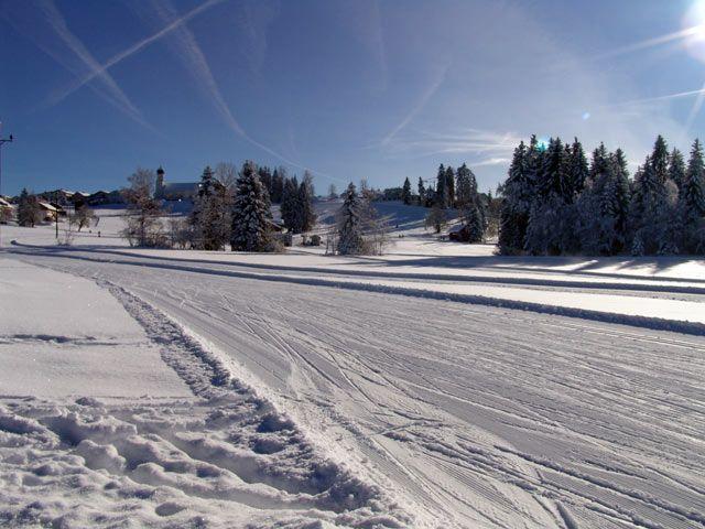 Langlaufloipen im Nordic Sport Park Sulzberg - Sulzberg Vorarlberg