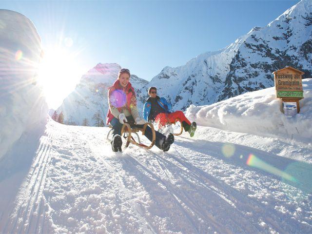 A superb day for tobogganing! - Achensee Region Tirol