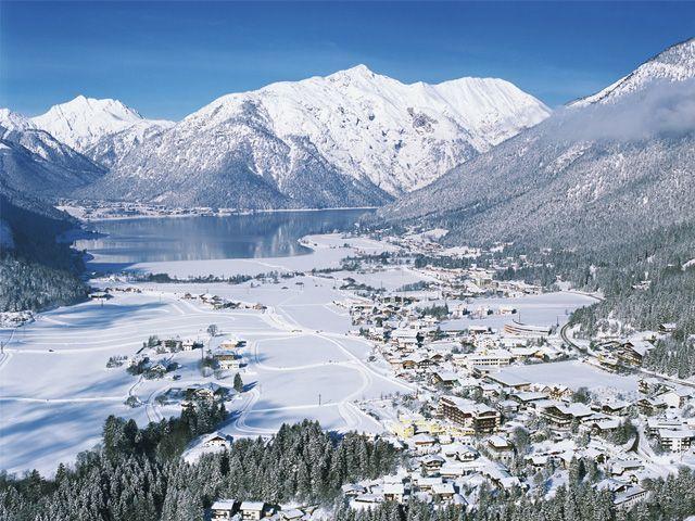 Ortsansicht Maurach - Achensee Region Tirol