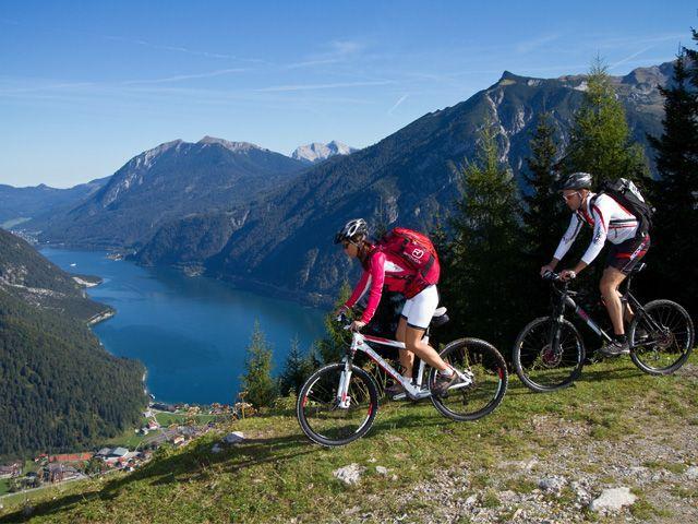 Mountainbiketour in der Ferienregion Achensee - Achensee Region Tirol
