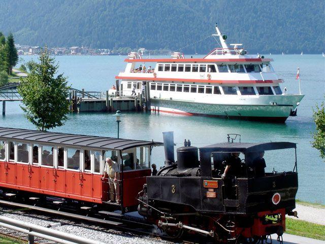 Bahn und Schiff - Achensee Region Tirol