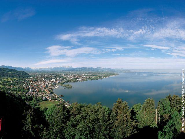 Panorama Bodensee - Bodensee Bregenz