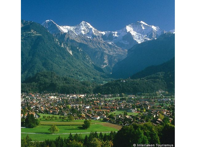 Interlaken Bild für Fotogalerie - Interlaken Berner Oberland
