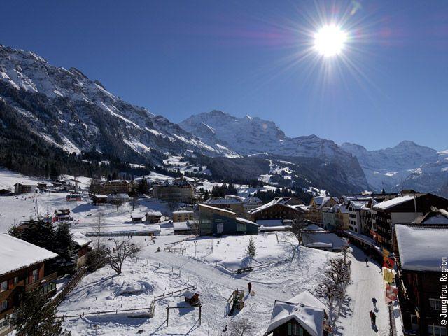Wengen Berner Oberland