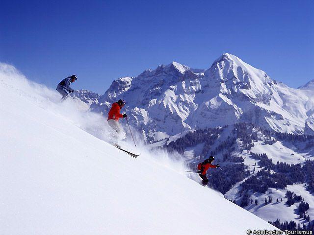 Adelboden Tiefschneevergnügen - Adelboden Berner Oberland