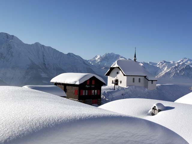 Kapelle Maria zum Schnee - Bettmeralp Wallis