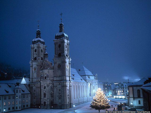 Weihnachten in St.Gallen - St. Gallen Ostschweiz