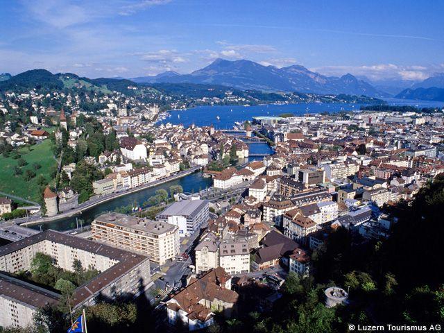 Lucerna  -  esenta Elvetiei Central Switzerland