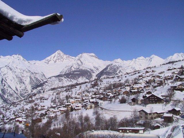 Bürchen im Winter - Buerchen Wallis