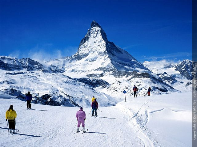 Matterhorn Ski Paradies Image for photo gallery - Matterhorn  paradisul skiului Zermatt