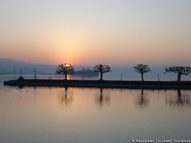 Sunset at Zürichsee - Lago di Zurigo